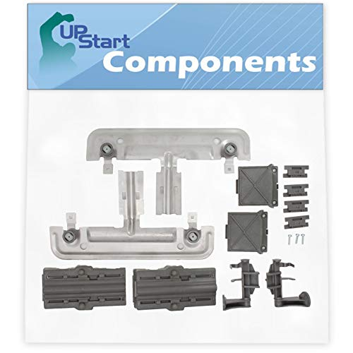 W10712394 Dishwasher Rack Adjuster Kit Replacement for Part Number W10253546 Dishwasher - Compatible with W10712394 Adjuster Kit - UpStart Components Brand