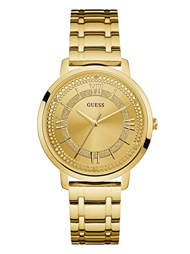 GUESS Womens Quartz Stainless Casual