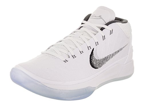 Men's Silver AD Kobe White US 11 Shoe Nike D Basketball M Ice Metallic d0wnT5Sx