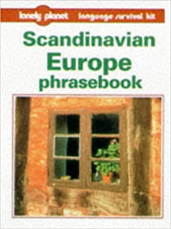 Book Scandinavian Europe Phrasebook (Lonely Planet Language Survival Kits)