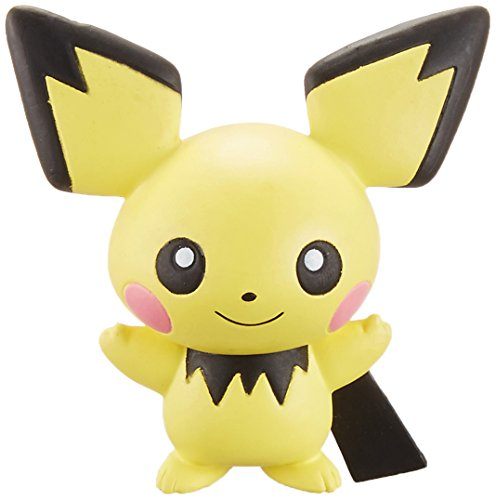 Takaratomy Pokemon Sun & Moon EX EMC-11 Mini Action Figure, Pichu
