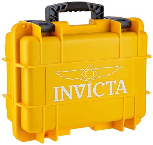 Invicta Collectors Box 8 Slot-Yellow