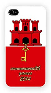 Gibraltar Commonwealth Games 2014 Cell Phone Funda Para Móvil Case Cover for iPhone 5 / 5s