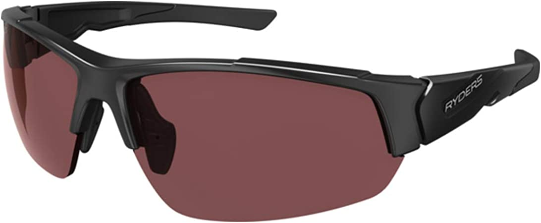 Ryders Eyewear Sports Sunglasses 100% UV Protection, Impact Resistant Adjustable Sunglasses for Men, Women - Strider