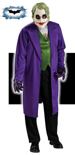 Rubie's Costume Batman The Dark Knight Joker Costume, Black/Purple, Standard ()