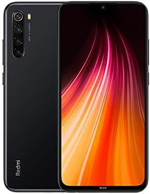 Xiaomi Redmi Note 8 Smartphone,4GB 64GB Mobilephone,Schermo Intero Da 6,3″,Processore Octa Core Snapdragon 665,Quad Camera(48mp + 8mp + 2mp + 2mp) Versione Globale (Nero)