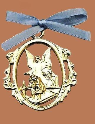 Guardian Angel Crib Medallion (Guardian Angel Crib Medal)