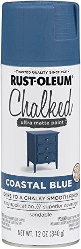 (Rust-Oleum Series Rustoleum 302598 12OZ Coastal Blue Chalked Paint Spray, )