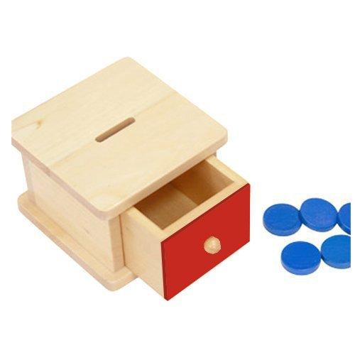 Montessori Infant Coin Box (Infant Box)