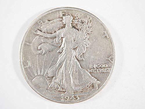 1943 P Walking Liberty Silver Half Dollar Half Dollars Ungraded - Grading Walking Liberty Half Dollars