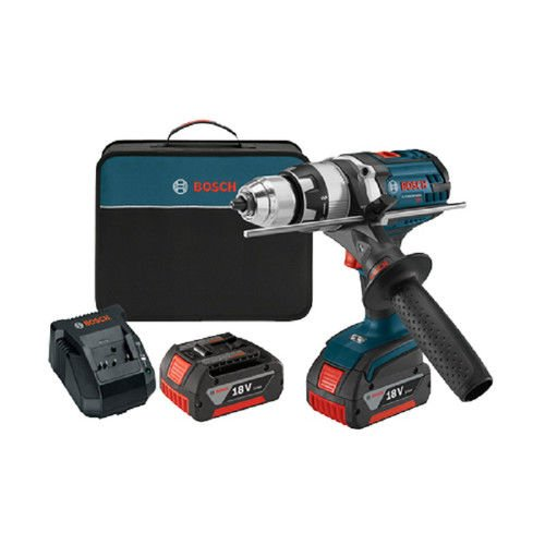Bosch HDH181X01RT 18V Cordless Lithium-Ion 1/2 in. Brute Tough Hammer Drill Driver with Active Response Technology (Certified Refurbished)