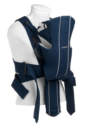 Amazon.com   BABYBJORN Baby Carrier Active - Blue Silver (Discontinued by  Manufacturer)   Child Carrier Front Packs   Baby