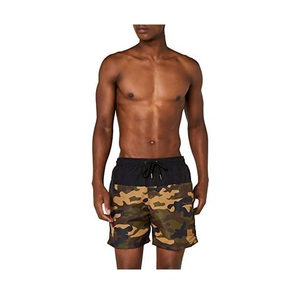 Urban Classics Block Swim Shorts Pantaloncini da Bagno Uomo 1 spesavip