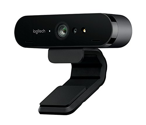 Logitech Brio Webcam - 90 Fps - Usb 3.0 - 4096 X 2160 Video - Auto-focus - 5x Digital Zoom - Microp from Logitech
