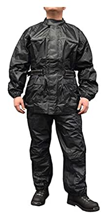 Redline Unisex 2 Piece Motorcycle Rain Suit Waterproof W