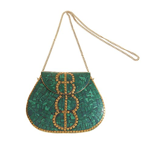 Over Clutch Fold Beaded (From Saint Xavier Women's Tully Clutch)
