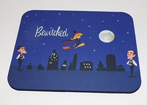 BEWITCHED Golden Age of TV COMPUTER MOUSE PAD