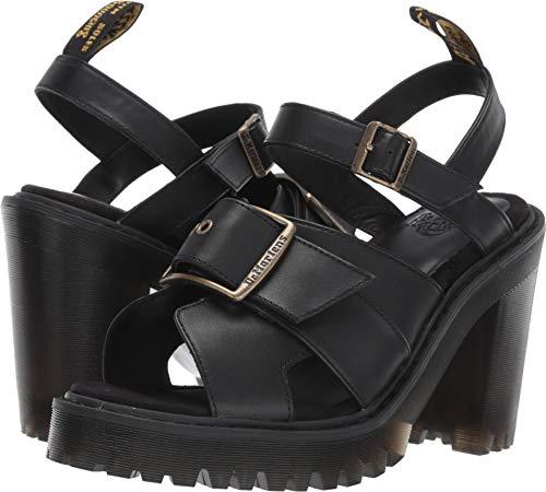 Dr. Martens Women's Granik Sandal Black Smooth 7 M UK