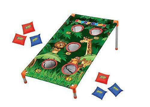 Kids Animal Zoo Bean Bag Toss Camp Activities Carnival Jungle Party Games