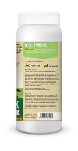 Pet-Naturals-of-Vermont-Flea-Tick-All-Natural-Flea-Tick-and-Mosquito-Repellant-for-Pets-60-Wipes