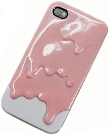 Housse Coque 3D Glace fondue Protection pour iPhone 4 4S Melt Ice ...