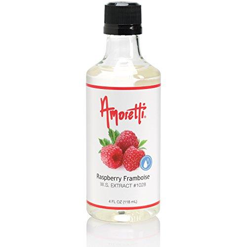 Amoretti Raspberry Framboise Extract, 4.0 Ounce