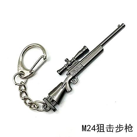 lotuwio Pubg CS Go Arma Llaveros Ak47 Modelo De Pistola 98 K ...