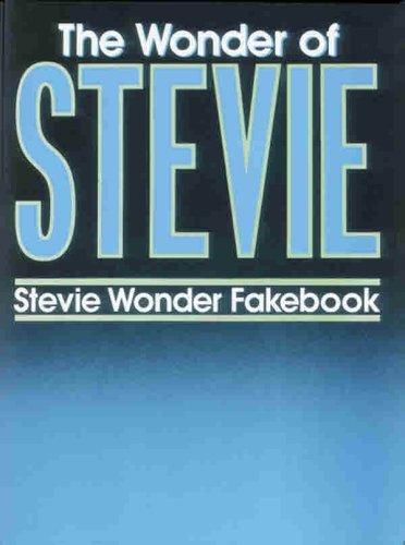 The Wonder of Stevie: Stevie Wonder Fakebook