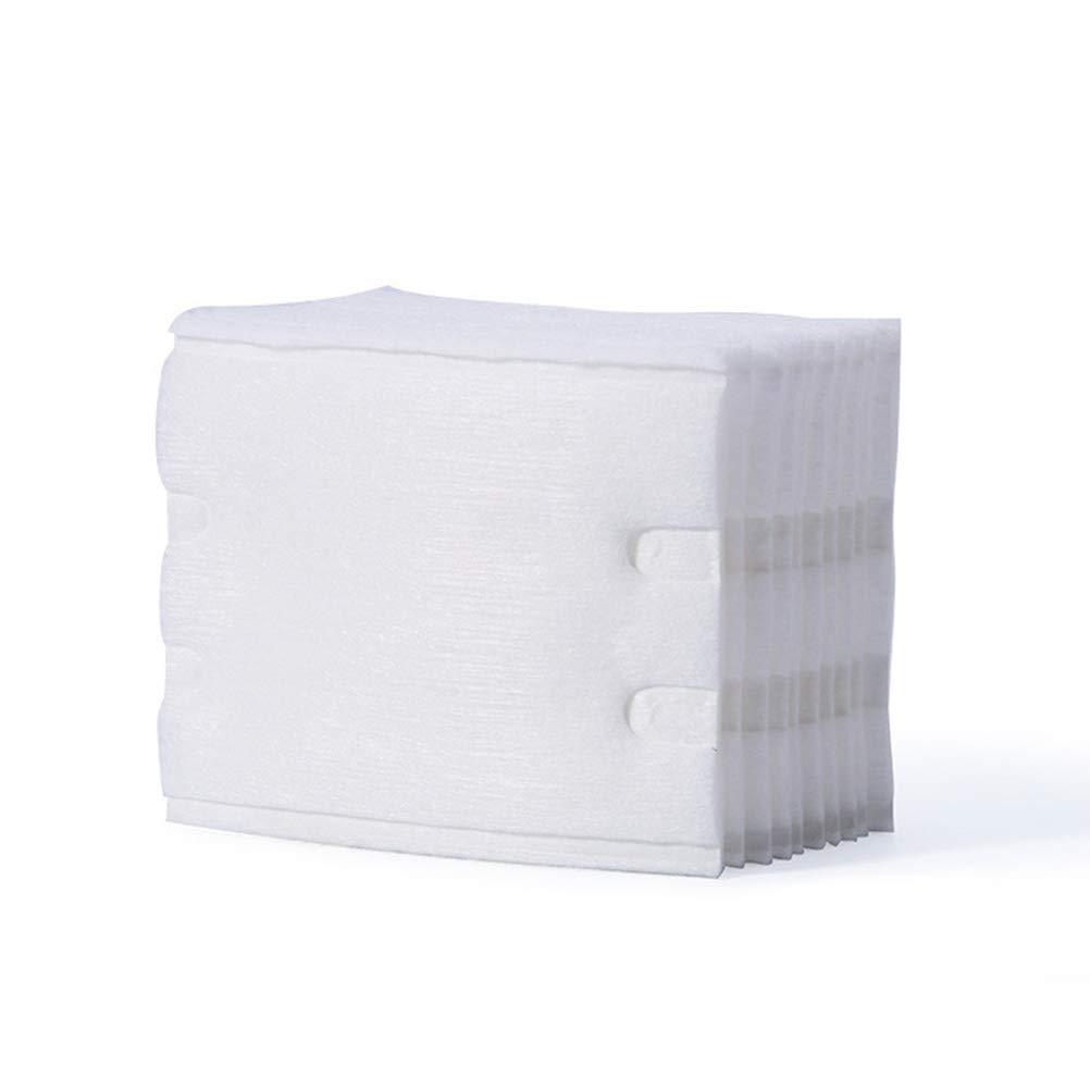 Lurrose 200pcs cuadrados desechables almohadillas de algod/ón faciales espesadas suaves almohadillas de limpieza de cara