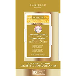 Danielle 24K Gold Cleansing Cloth Wipes
