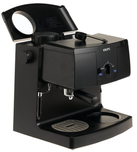 Krups Espresso Coffee Maker Xp1500 Manual : KRUPS XP1500 Coffee Maker and Espresso Machine Combination, Black - Tec Ofertas
