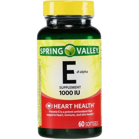 Spring Valley Natural E Vitamin D-Alpha Dietary Supplement