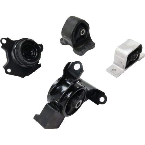 Automatic Transmission Motor and Transmission Mount Kit for Element 03-06 4 Cyl 2.4L Eng