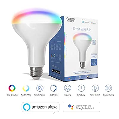 Smart WiFi Enhance LED BR30 Flood/Spot Bulb …