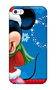 Iphone 5/5s Case Cover Skin : Premium High Quality Attractive Micky Mouse Cartoon Christma S Case
