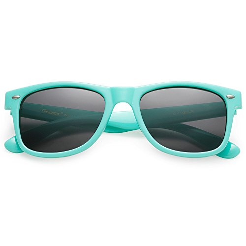 UNISEX STYLISH 80S TRENDY Turqoise Teal CLASSIC POLARIZED RETRO POLARSPEX Smoke SUNGLASSES p4qw5xC