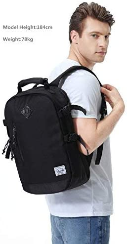 Laptop Backpack for Men,VASCHY Anti-theft Water Resistant Fashion Travel Bags College School Backpack