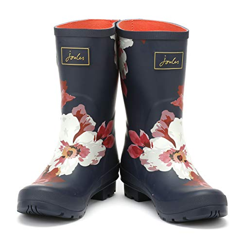 Whitstable de Pluie mollywelly Bottes Navy Femme Joules Floral A4q7UwSxnn