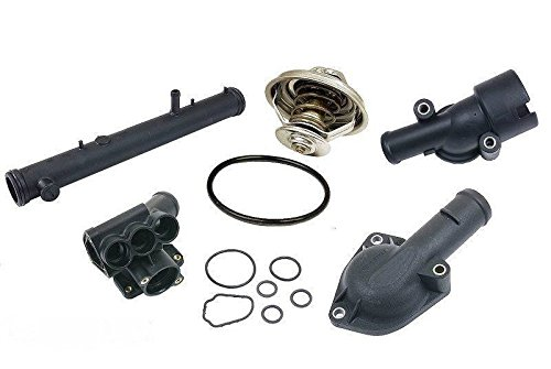 Vr6 Water (1993-1999 VW VOLKSWAGEN VR6 12V 2.8 COMPLETE THERMOSTAT HOUSING REBUILD KIT)
