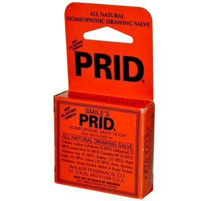 Price comparison product image Prid Homeopathic Salve 18 g