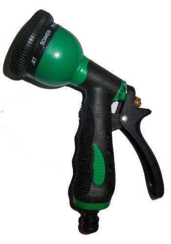 Sharpex – 8 Pattern Hose Nozzle (Black & Green)