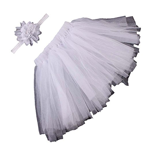 vestitiy Clearance! Newborn Baby Girls Photo Photography Prop Tutu Skirt Dress Headband for 0-1 Years Old -