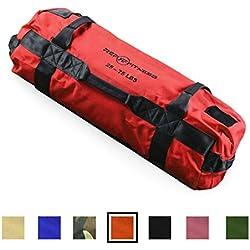 Rep Fitness Sandbag - Medium, Red, 25-75 lbs