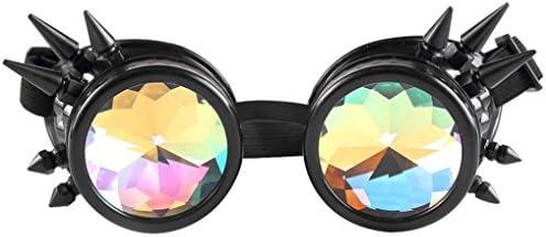 c268180bf0 Btruely Herren_Gafas de Sol Kaleidoscope Gafas Mujeres y Hombres Gafas de  caleidoscopio Rave Festival Party Lentes. Cargando imágenes.