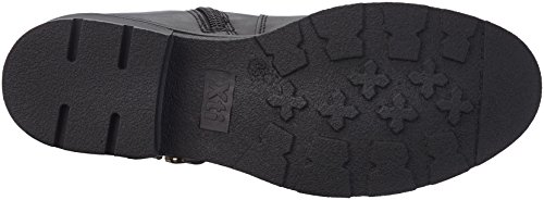 XTI Damen 047341 Biker Boots Schwarz (Black)