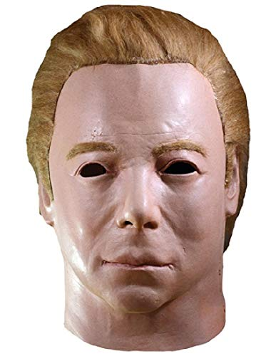 Star Trek Halloween Mask (Trick or Treat Studios Star Trek Captain Kirk 1975 Adult Latex Mask Mike)