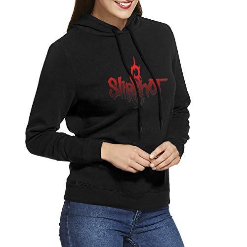 Selipenchin Ladies Slipknot Comfortable Black Hoodie L