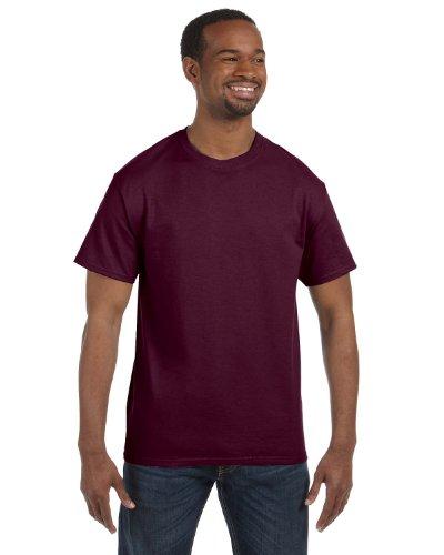 Gildan 5.3 oz. Heavy Cotton T-Shirt, Medium, Maroon