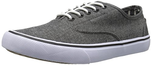 Crevo Mens Capitano Fashion Sneaker Nero Chambray