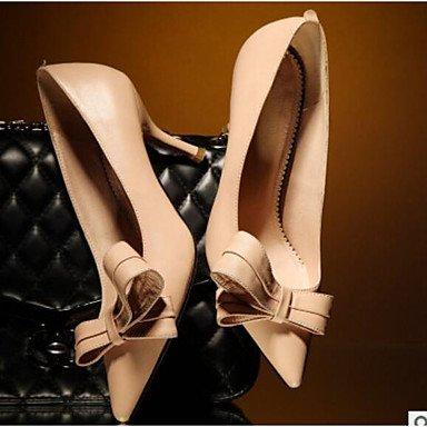 Eté blushing Confort à Polyuréthane ggx Plat Confort Noir LvYuan pink Rose Talons Femme Chaussures Décontracté ROqZn40w